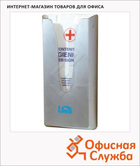 Диспенсер для гигиенических пакетов Lime Satin, металлик, A68801SATS