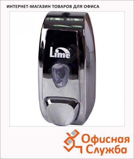 фото: Диспенсер для мыла в картриджах Lime Crom хром, 500мл, A 70400FS