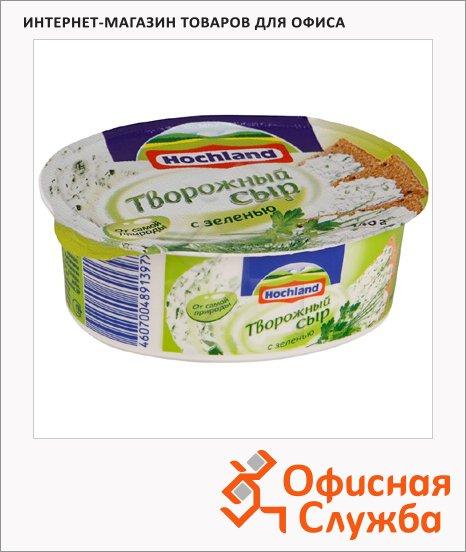 фото: Сыр творожный Hochland с зеленью 60%, 140г