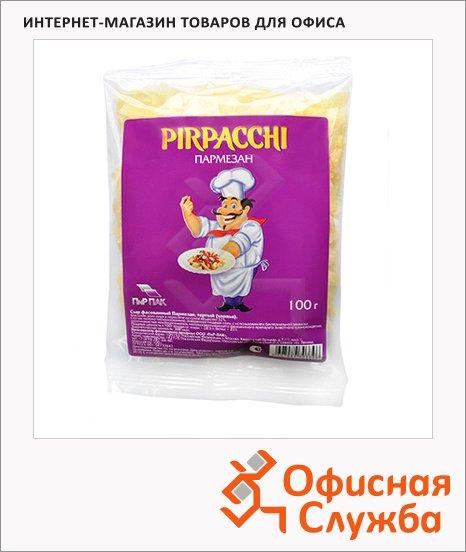 Сыр тертый Pirpacchi 38% Пармезан, 100г, хлопья