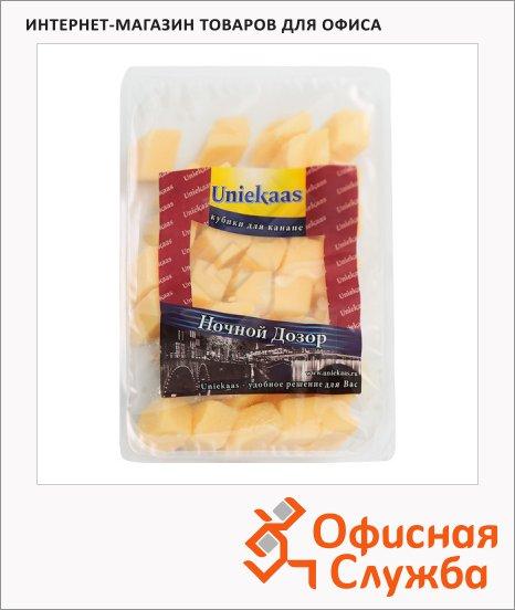 Сыр Uniekaas Ночной дозор, 48%, кубики, 200г
