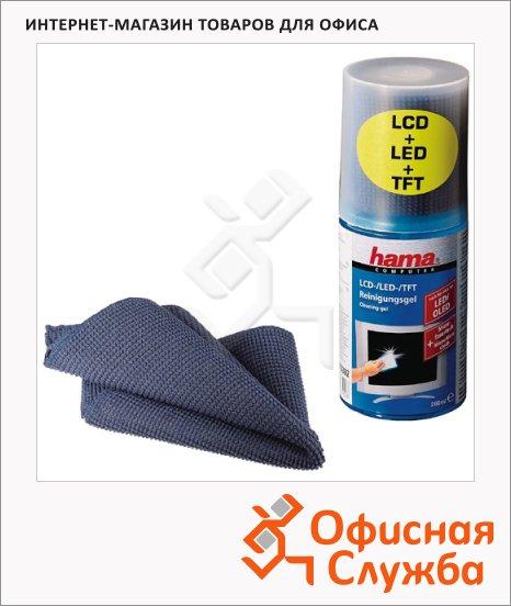 фото: Набор салфеток для мониторов гель 200мл+салфетка H-49645