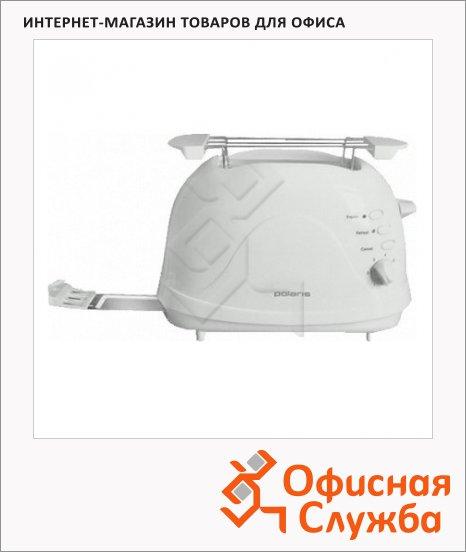 Тостер Polaris PET0702L белый, 700Вт