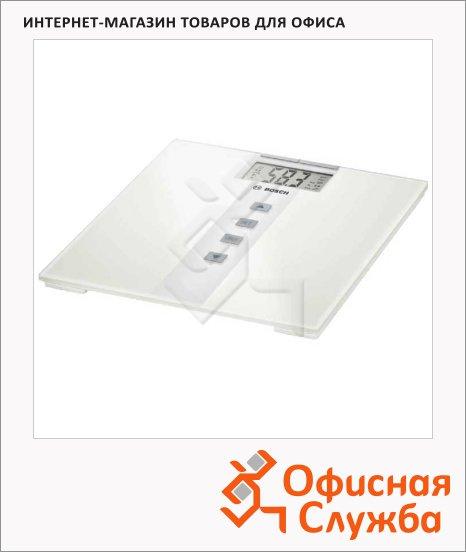 фото: Весы напольные Bosch PPW3330 белые до 180 кг, электронные