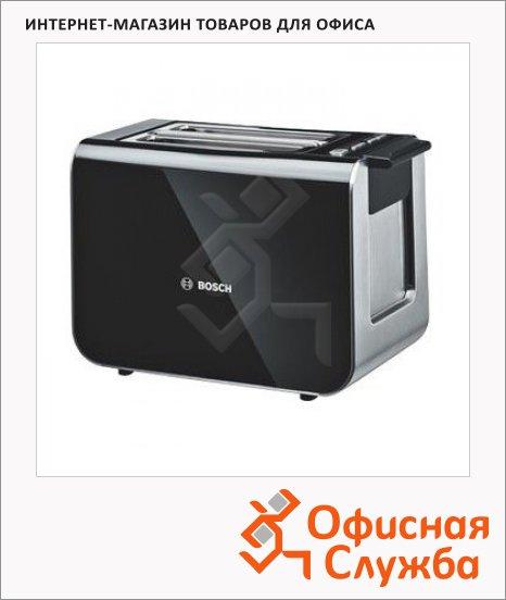 Тостер Bosch TAT8611 черный, 860Вт