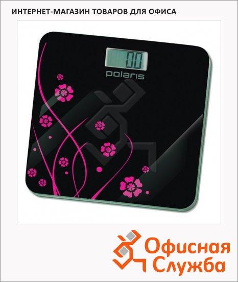 фото: Весы напольные Polaris PWS 1523DG черные до 150 кг, электронные