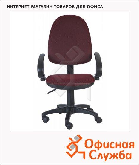 Кресло офисное Бюрократ CH-300AXSN ткань, бордовая