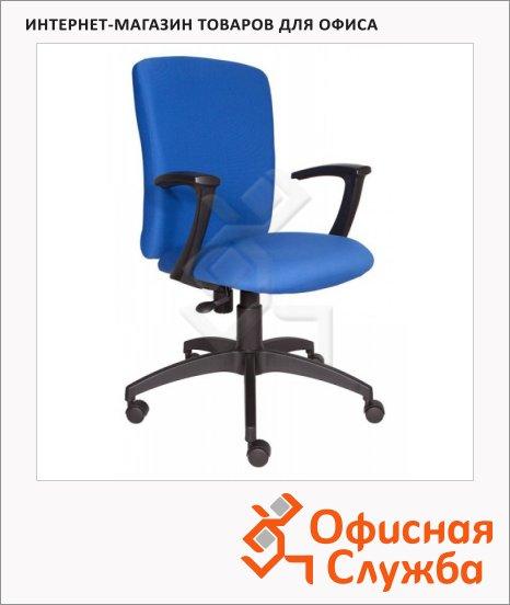 фото: Кресло офисное CH-470AXSN ткань синяя