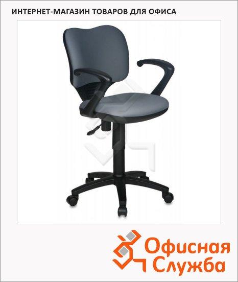 Кресло офисное Бюрократ CH-540AXSN ткань, крестовина пластик, низкая спинка, серая