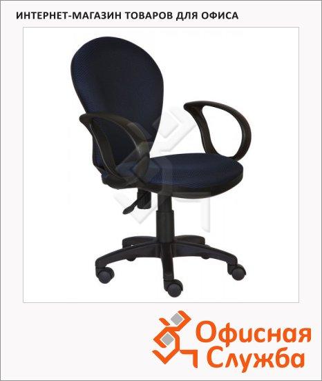 Кресло офисное Бюрократ CH-687AXSN ткань, синяя, JP, крестовина пластик