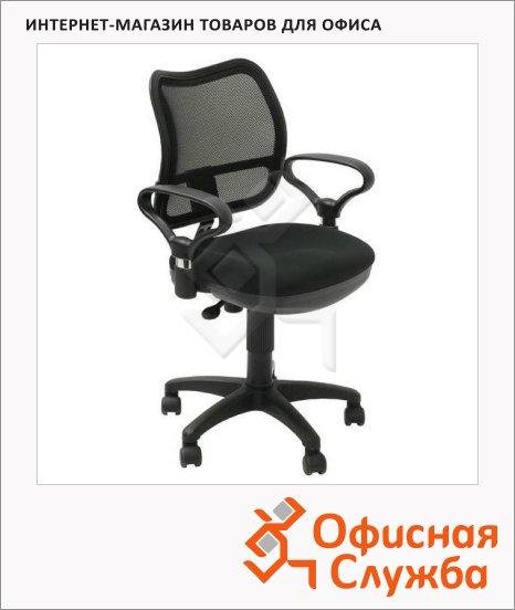 Кресло офисное Бюрократ CH-799AXSN ткань, черная, крестовина пластик