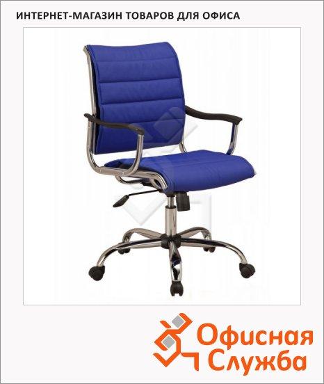 Кресло руководителя Бюрократ CH-994AXSN синее