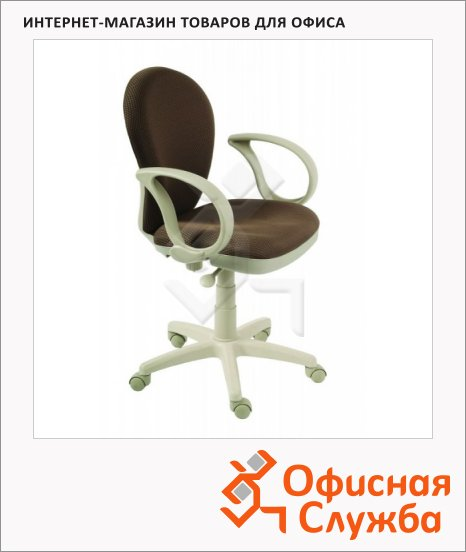 фото: Кресло оператора CH-B687AXSN бежево-коричневое
