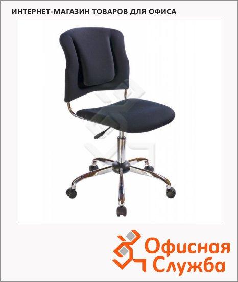 Кресло офисное Бюрократ h-H322SXN ткань, черная, крестовина хром