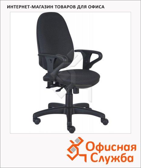 Кресло офисное Бюрократ T-612AXSN ткань, крестовина пластик, серая