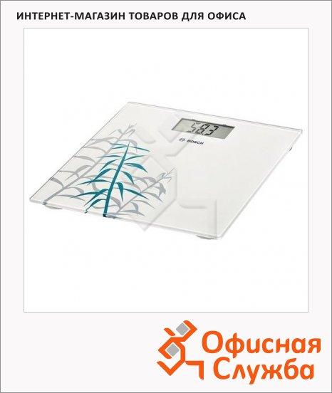 Весы напольные Bosch PPW3303 белые, до 180 кг, электронные
