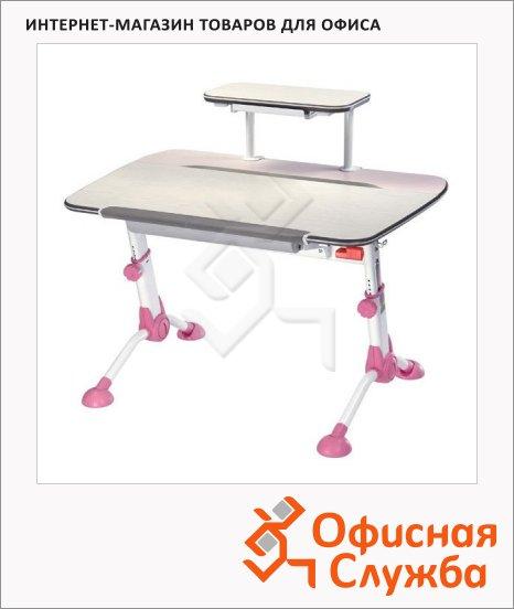 Стол детский Бюрократ Conductor-03 ЛДСП, 1050х1020х710мм, молочный/розовый