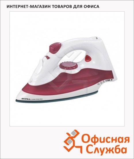 Утюг Supra IS-0500 1700 Вт, красно-белый