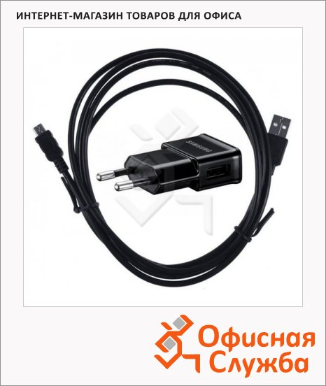 Зарядное устройство Samsung ETA0U80EBEGSTD, 1A