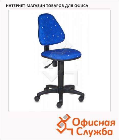 Кресло детское Бюрократ KD-4 ткань, космос, крестовина пластик