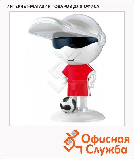 Светильник настольный Бюрократ KDL-Football красная, на подставке, люминесцентный