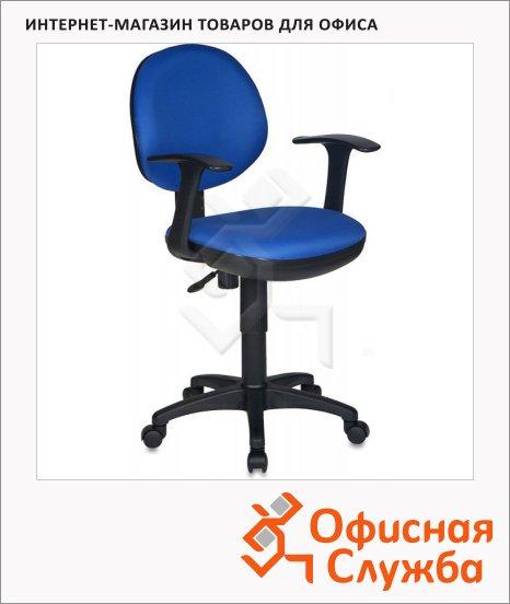 Кресло офисное Бюрократ CH-356AXSN ткань, синяя