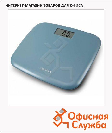 фото: Весы напольные BSS-6050 голубые до 150 кг, электронные