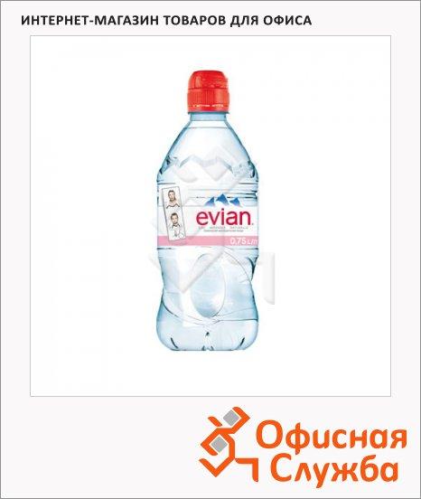 фото: Вода минеральная Evian Спорт без газа ПЭТ, 750мл
