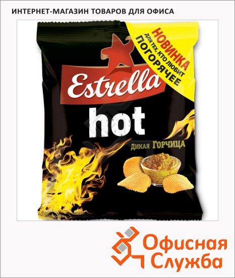 Чипсы Estrella горчица, 120г