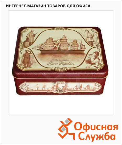 Чай Hilltop Морская шкатулка, черный, листовой, 200 г, ж/б
