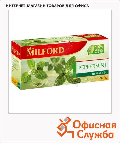 фото: Чай Milford Peppermint 20 пакетиков, травяной
