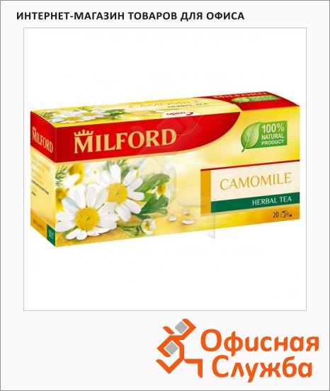 Чай Milford Camomile, травяной, 20 пакетиков