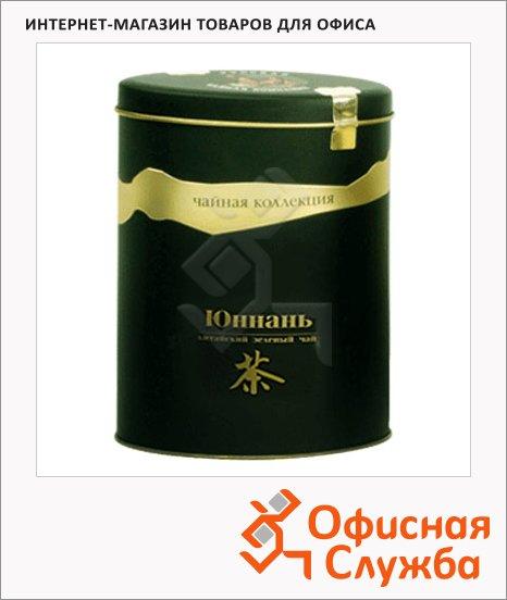Чай Русская Чайная Компания Классика Юннань, листовой, 125 г, зеленый