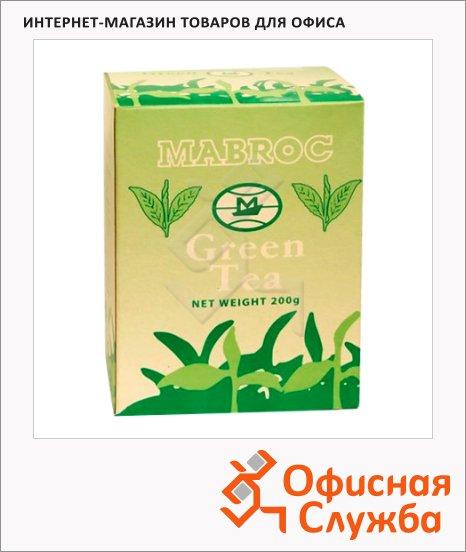 Чай Mabroc Green, зеленый, листовой, 200 г