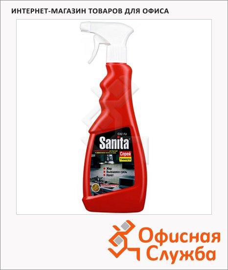 Чистящее средство Sanita 0.5л, 1 минута, спрей