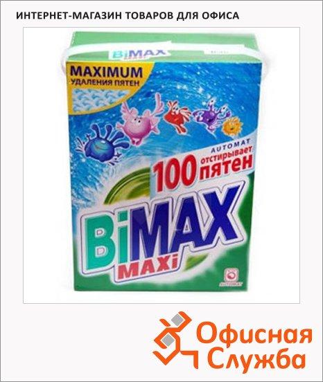 фото: Стиральный порошок Bimax Compact 4кг 100 пятен, автомат