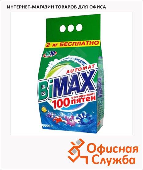 фото: Стиральный порошок Bimax Compact 6кг 100 пятен, автомат