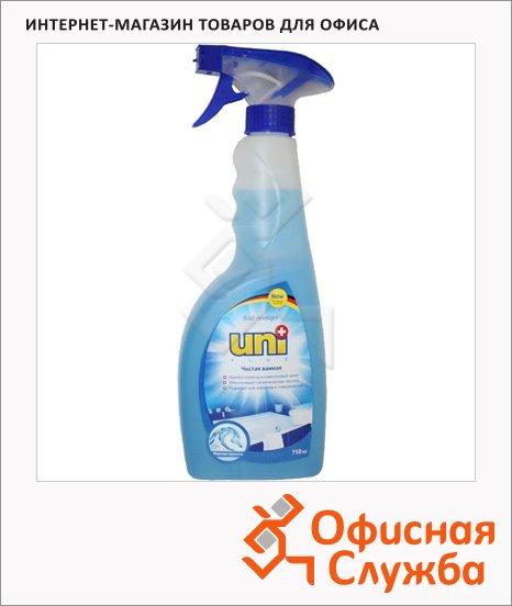 Чистящее средство Uniplus Чистая ванна 750мл, морская свежесть, спрей