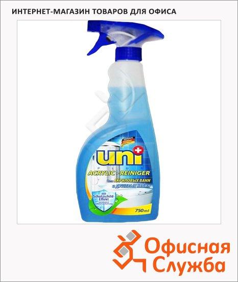 Чистящее средство Uniplus 0.75л, для акриловых ванн, спрей