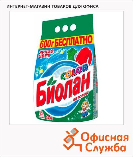 фото: Стиральный порошок Биолан 2.4кг Color, автомат