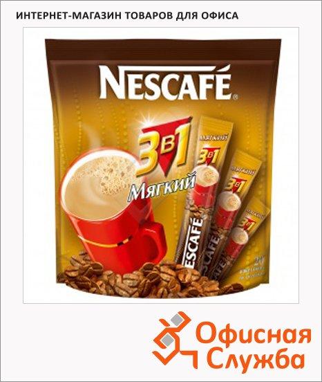 Кофе порционный Nescafe Мягкий 3в1 20шт х 16г, растворимый, пакет