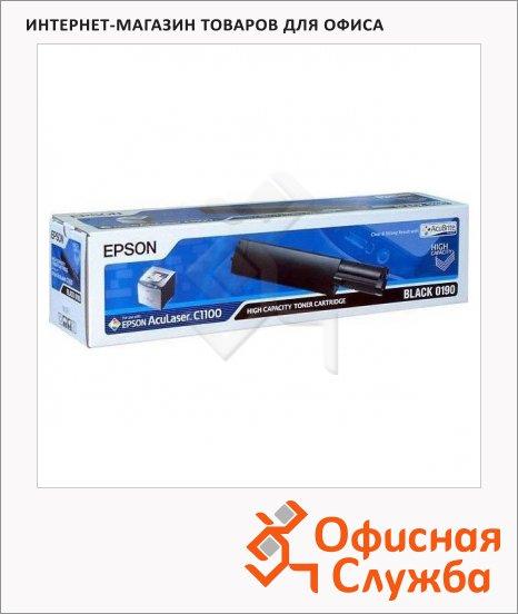 фото: Тонер-картридж Epson C13S050190 черный