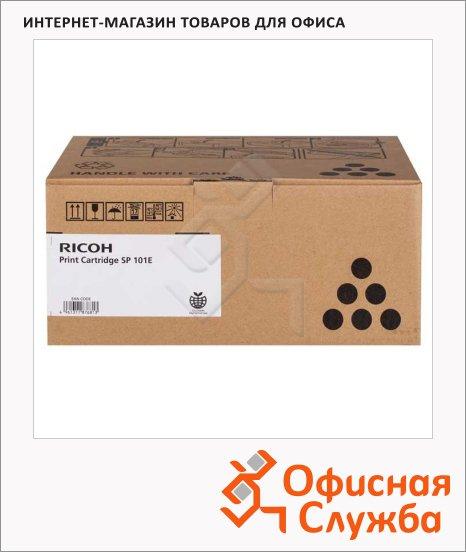 Тонер-картридж Ricoh SP101E, черный, (407059)