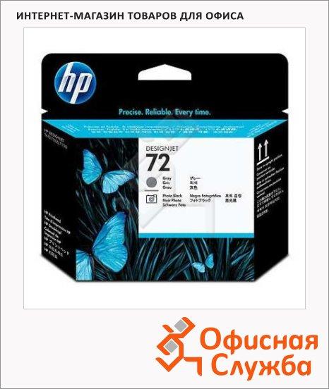 фото: Печатающая головка Hp 72 C9380A 2шт/уп, серая/черная