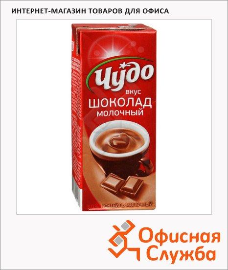 фото: Молочный коктейль Чудо 3% молочный шоколад 200г