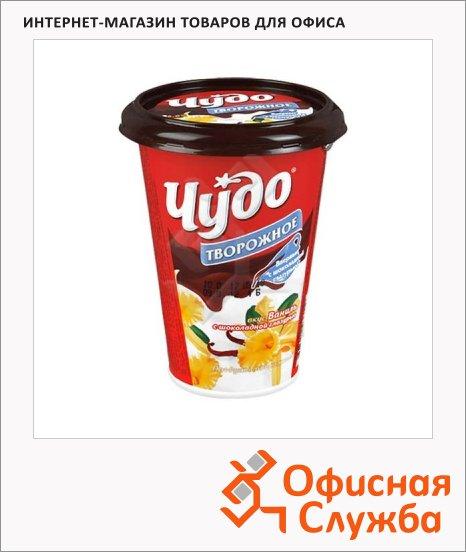 фото: Йогурт Творожный десерт ванильная глазурь