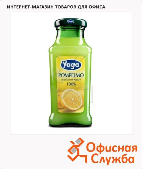 Нектар Yoga грейпфрут, 0.2л, стекло