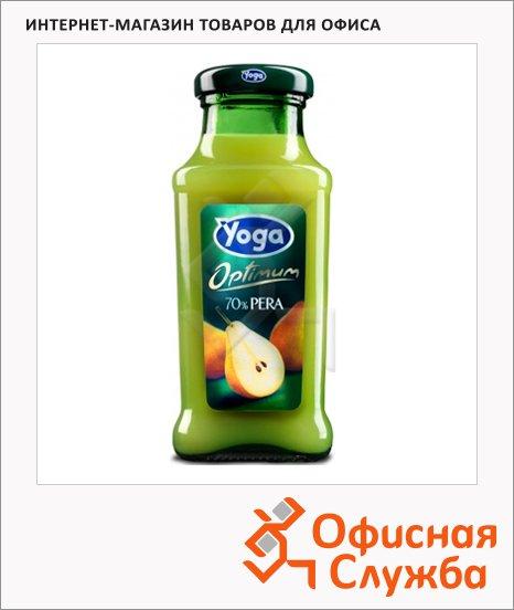 Нектар Yoga груша, 0.2л, стекло