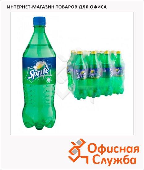 Напиток газированный Sprite 1л x 12шт, ПЭТ