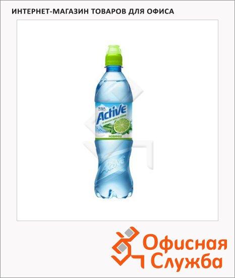 фото: Вода питьевая Aqua Minerale Актив без газа мята-лайм, 600мл х 12шт